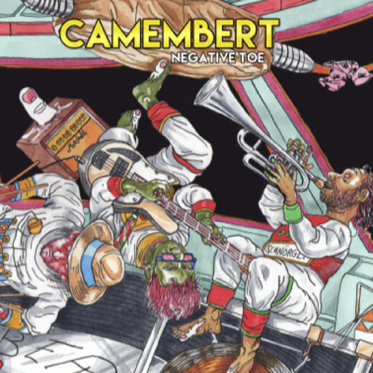 CAMEMBERT - Negative Toe 2LP Limited